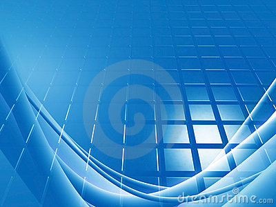 Blue Background Grid Stock Photo - Image: 13550960