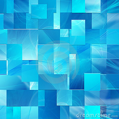 Blue background of the rectangles