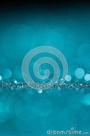 Blue background sparkle