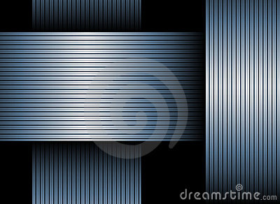 Blue Banded Background