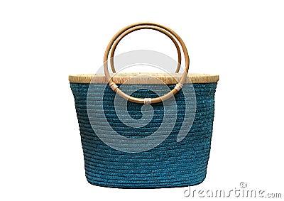 Blue basket