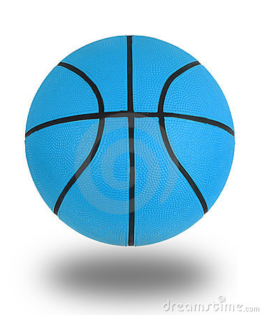 Blue Basketball Royalty Free Stock Images Image 8475599
