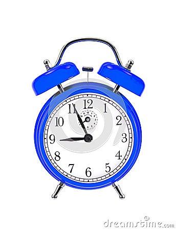 Blue bell clock (alarm clock)