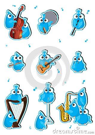 Blue Birds Instrument Set_eps