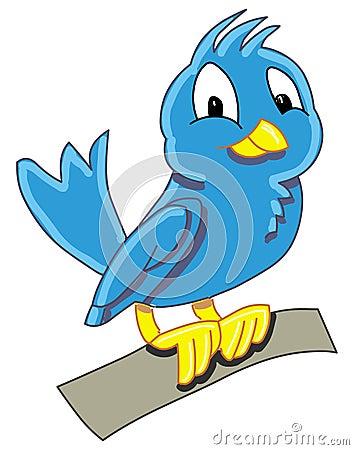 Blue birdy