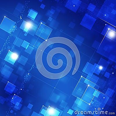 Blue Biz Background