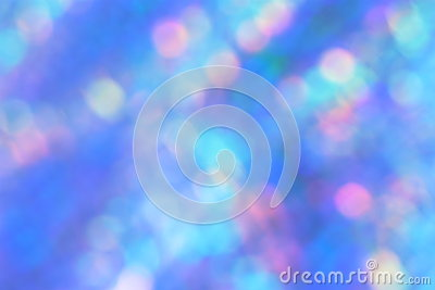 Blue Blur Background - Stock Photo
