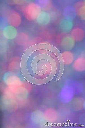 Blue Blur Background - Stock Photo