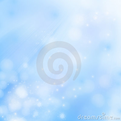 Blue, blurred background