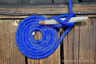 Blue Boat Rope