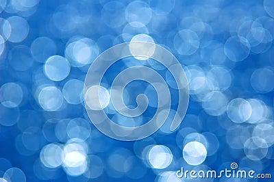 Blue Bokeh