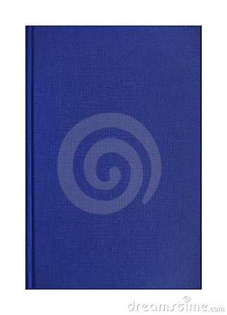 Blue book cover