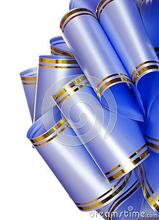 Free Blue Bow Closeup Royalty Free Stock Photo - 6361515
