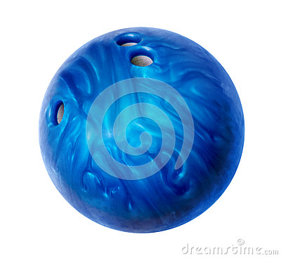 Free Blue Bowling Ball Stock Photos - 30226263