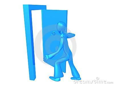 Blue Boy go out