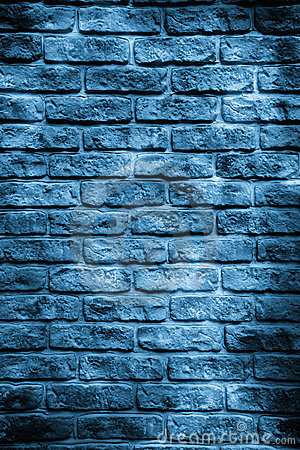 Blue Brick Wall Royalty Free Stock Photo Image 4175645