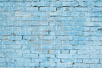 Blue Brick Wall Royalty Free Stock Image Image 4943836