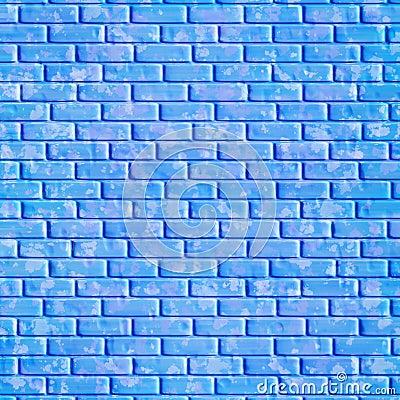 Blue Brick Wall Background Stock Image Image 4746821