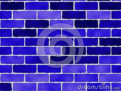 Blue Bricks Pattern