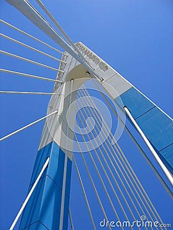Free Blue Bridge Sky Marbella Landmark Spain Stock Images - 594804
