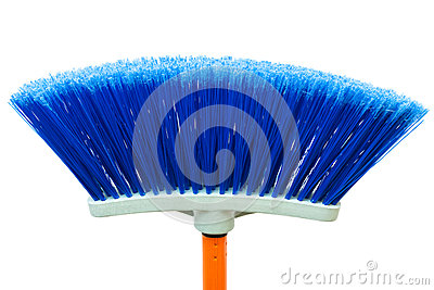 Blue brush