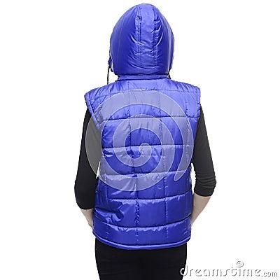Blue Bubble Vest Hoodie Free Public Domain Cc0 Image