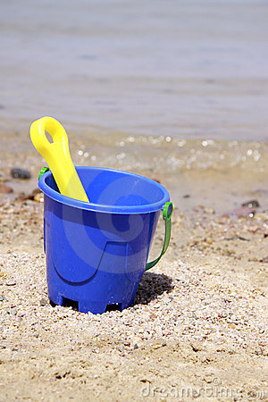 Free Blue Bucket Stock Photo - 19845000