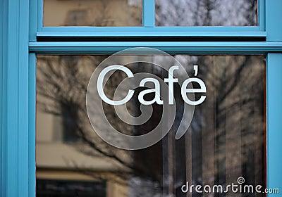 Blue Cafeteria