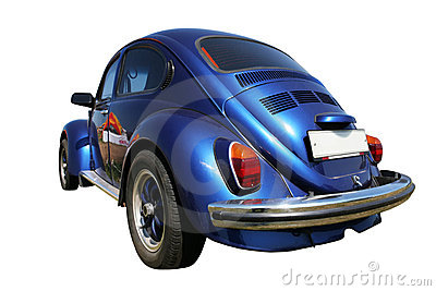 Blue Car from 1960 s