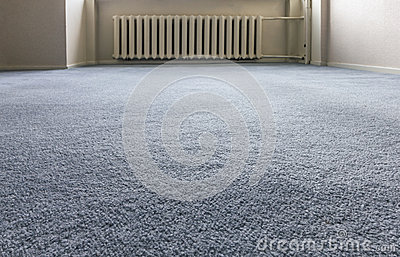Blue Carpet Floor