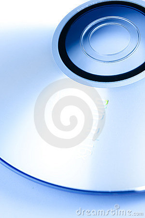 Free Blue CD Royalty Free Stock Photos - 5440178