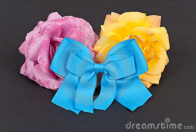 Blue Charity Ribbon