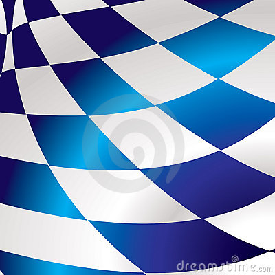 Blue checkered square