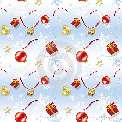 Blue Child Christmas Wrapping paper