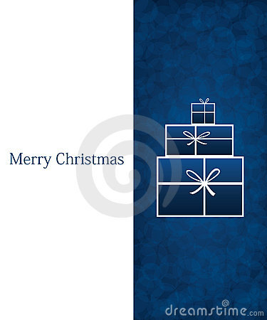 Blue Chirstmas background