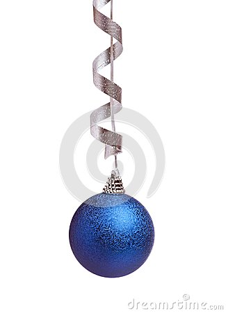 Blue chistmas decoration