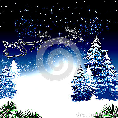 Free Blue Christmas Royalty Free Stock Photography - 45391457