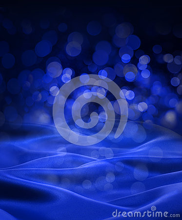 Free Blue Christmas Abstract Background Royalty Free Stock Image - 29199326