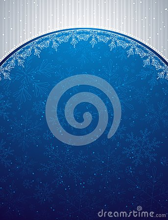 Blue christmas background,