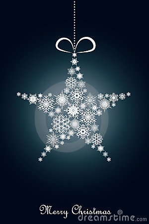 Free Blue Christmas Background Stock Images - 16296094
