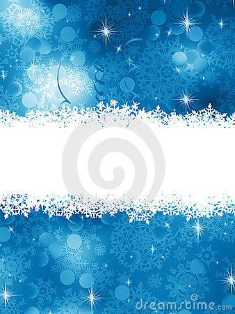 Blue Christmas Background. EPS 8