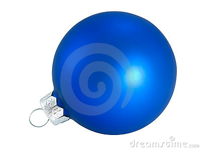 Blue Christmas ball for decoration Christmas tree