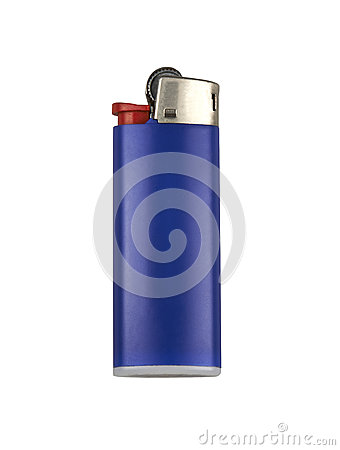 Free Blue Cigarette Lighter Stock Photos - 29936883