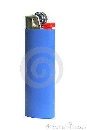 Free Blue Cigarette Lighter Stock Photo - 5595040