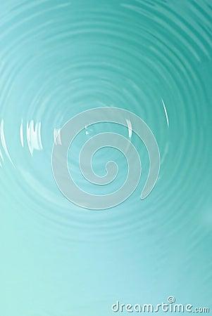 Blue circle water