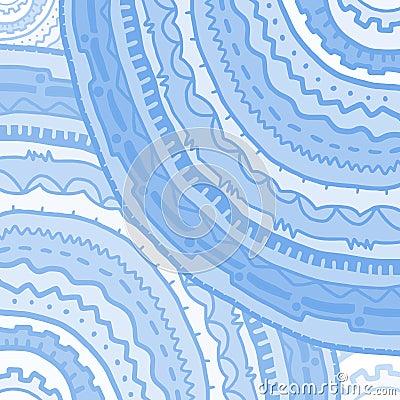 Blue circles cover