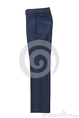 Blue classical trousers