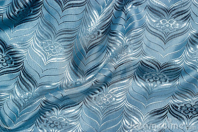 Blue cloth texture