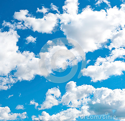 Free Blue Cloudly Sky Stock Image - 34775761