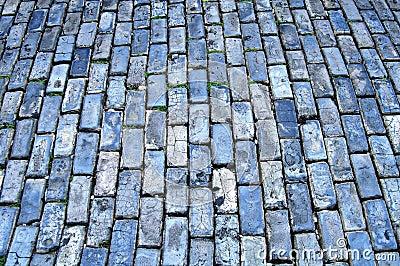 Blue cobblestone